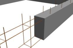 Схема создания армирующей сетки для фундамента