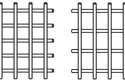 Схема армирования по методу А.Ф. Лолейта