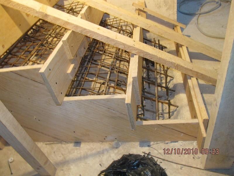 Изготовление железобетонных лестниц своими руками