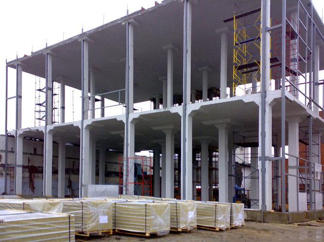 Нагрузка на железобетонные сборные конструкции