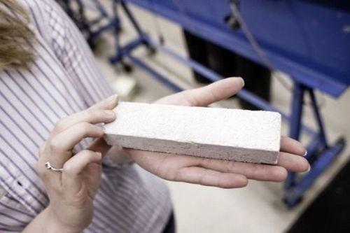 Брус из геополимерного бетона