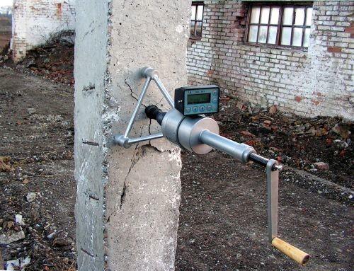 """Определение прочности бетона методом """"Отрыв со скалыванием"""""""