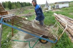 Песок для цементного раствора