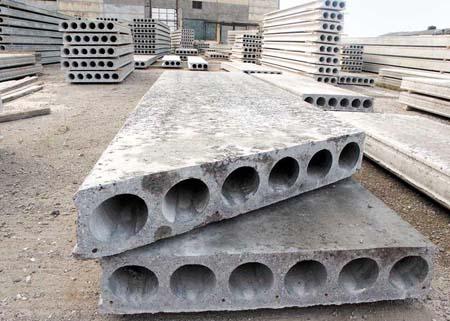 Многопустотные плиты перекрытий