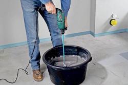 Приготовление цементно-известкового раствора