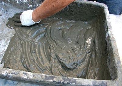 Для приготовления раствора используйте цемент марки М500.