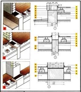 Схема фундаментов для дома из газосиликатных блоков