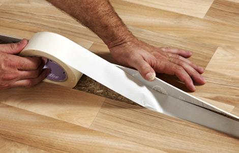 Как стелить линолеум своими руками на бетонный