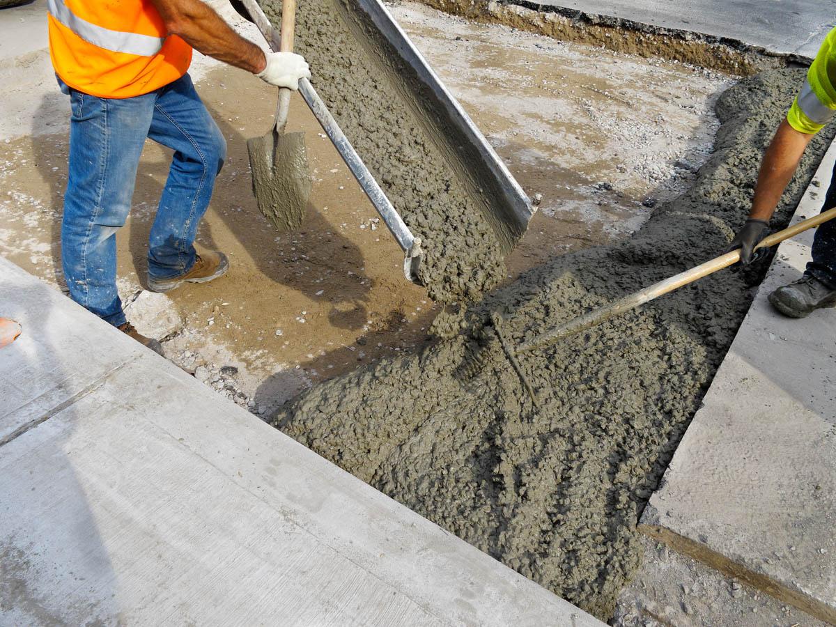 Большим спросом на строительном рынке пользуется бетон.