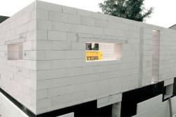 Стены из газобетонных блоков