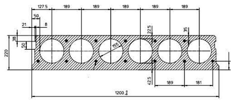 Плиты перекрытия раскладка арматуры колонны железобетонные длина