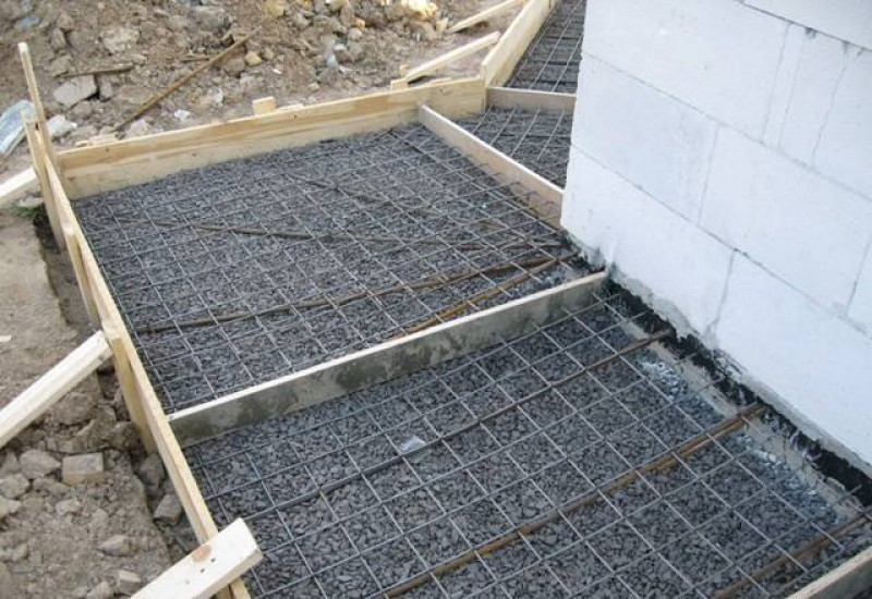 Железнение бетонного пола
