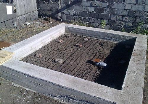 Фундамент под гараж фото металлические стеллажи для гаража изготовление