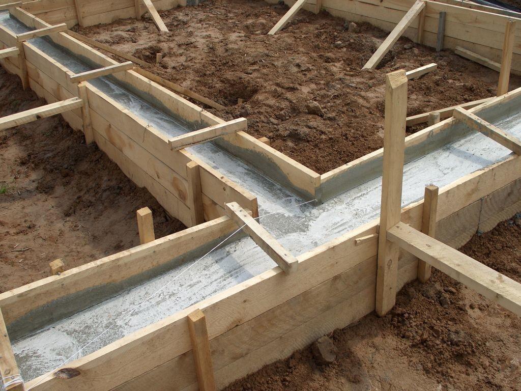 Как можно сделать фундамент для бани.