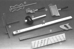 Основные инструменты для кладки пеноблока