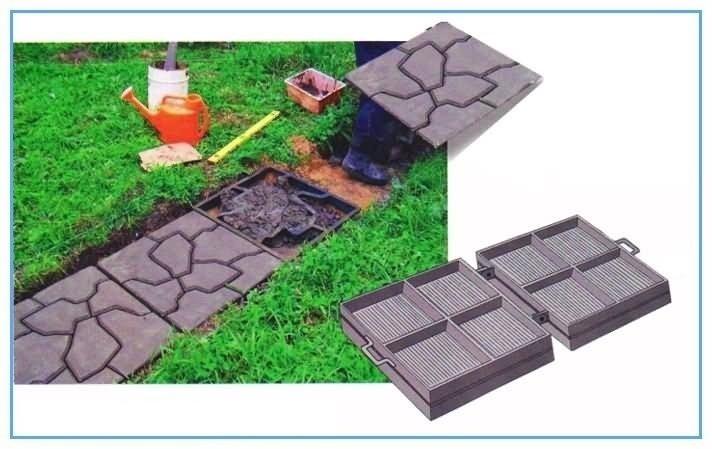 Вы можете изготовить тротуарную плитку любого размера, цвета, формы.