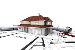 Макет и чертежи будущего дома