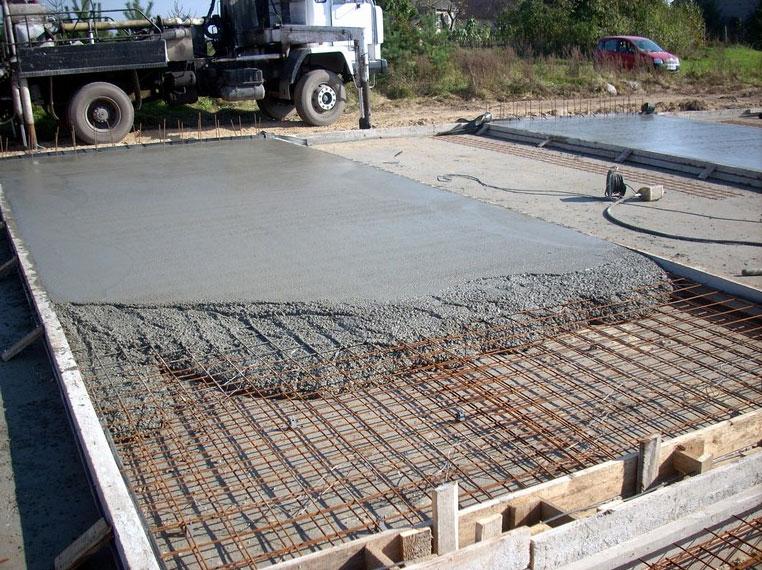 Фундамент плита под гараж купить гараж закрытый