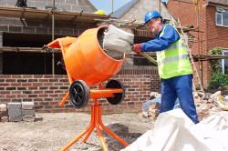 Размешивание бетона