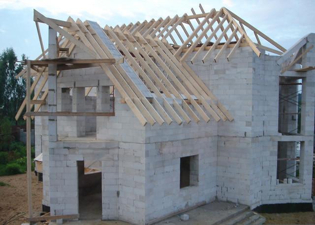 Строительство бетонного дома
