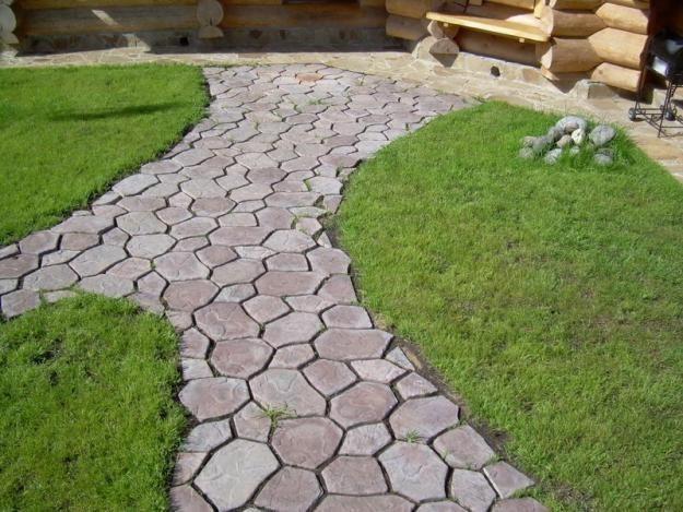 Изготовление тротуарной плитки своими руками видео фото 305