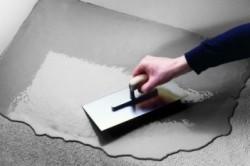 Разравнивание бетона в углах