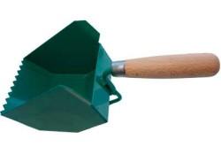 Кладка газобетонных блоков не может обойтись без такого инструмента как ковш-кельма