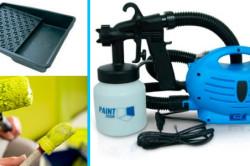 Инструменты для окраски бетона