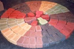 Окраска бетона пигментом