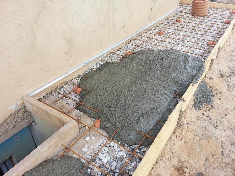 Отмостка своими руками пропорции бетон