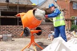 Приготовление бетона в домашних условиях